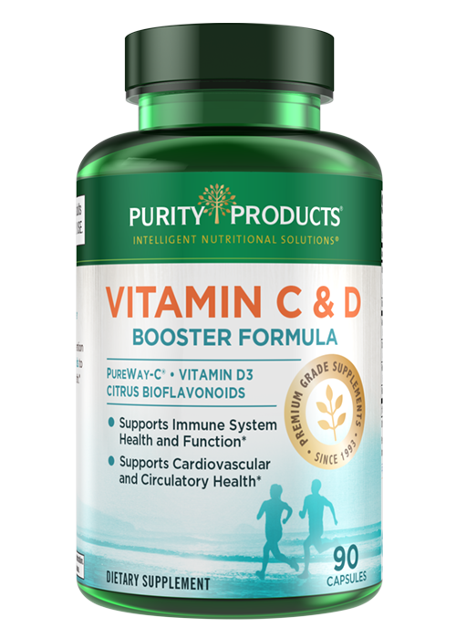 Vitamin C and D Booster - 3 Month Supply