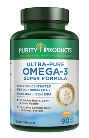 ULTRA PURE OMEGA 3 SUPER FORMULA (90 CAPS)