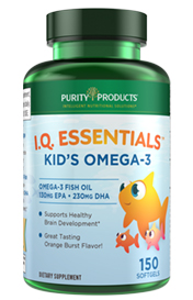 KID'S OMEGA 3 FISH OIL -- I.Q. ESSENTIALS