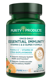 ONCE-DAILY ESSENTIAL IMMUNITY - VITAMIN C & D SUPER FORMULA