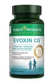 EVOXIN - CARNITINE & GREEN TEA PHYTOSOME