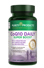CO-Q10 DAILY SUPER BOOST 100 MG CO-Q10+60 MG GINKGO+10 MG RES