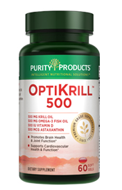 Optimized Krill 500 (Krill 500 mg + Fish Oil 500 mg)