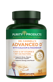 DR. CANNELL'S ADVANCED D WITH CALCIUM & MAGNESIUM