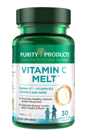 VITAMIN C + B12 ENERGY MELT - LEMON BURST - BOTTLE