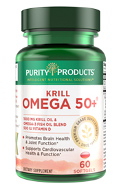 KRILL OMEGA 50+ (500mg Krill + 500mg Fish Oil)