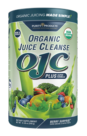 CERTIFIED ORGANIC JUICE CLEANSE - OJC PLUS - BERRY GREENS