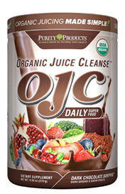 CERTIFIED ORGANIC JUICE CLEANSE- OJC - CHOCOLATE SURPRISE