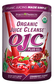 CERTIFIED ORGANIC JUICE CLEANSE - OJC PLUS - CRANBERRY CLEANSE