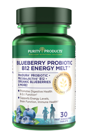 Probiotic Energy Melts with Vitamin B-12