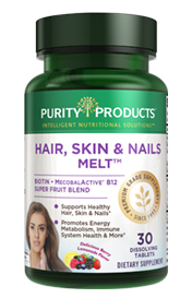 B12 Energy Melt + Biotin (now Hair, Skin and Nails Melt)