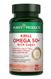 KRILL OMEGA 50+ 100 MG Co-Q10 - with PhosphoBoost
