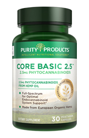 Core Basic Daily -- 2.5 MG -- PHYTOCANNABINOIDS