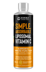 ZORBZ – LIPOSOMAL C – Super Absorbable Vit C - 16 oz