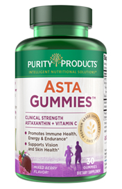 AstaGummies + Vit C – mixed berry 30 count