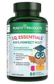 KID'S CHEWABLE MULTI -- I.Q. ESSENTIALS FORMULA