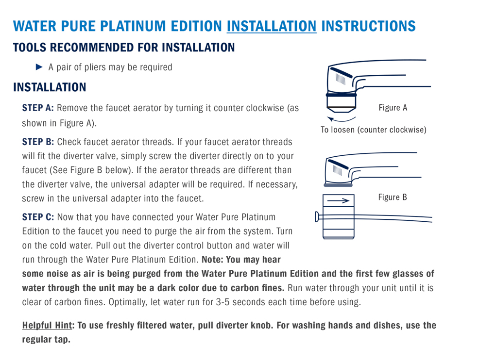 Water Pure Platinum Edition